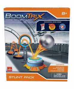 Set de constructie cu o trambulina BoomTrix Stunt Pack