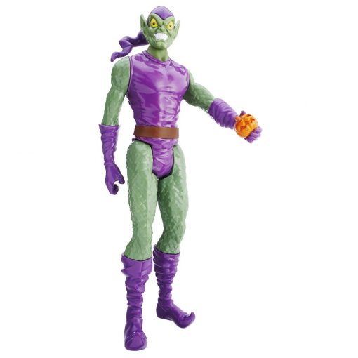 Figurina Spiderman Titan Hero, Green Goblin, 30 cm
