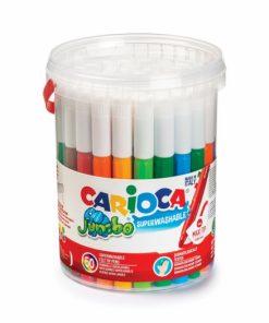 Set galetusa 50 carioci lavabile Carioca Jumbo.