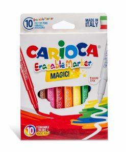 Set carioci Magic Erasable - 10 buc set.