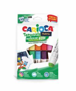 Creion-tempera Temperello Fabric Carioca 10 set