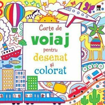 Carte de voiaj pentru desenat si colorat/***