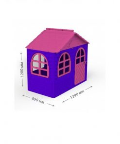 Casuta de joaca MyKids 02550/10 Pink/Violet - Small