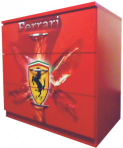 Comoda cu trei sertare Ferrari