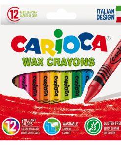 Creioane cerate 12 buc set - Carioca