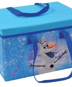 Cutie pentru depozitare jucarii transformabila Elsa si Anna