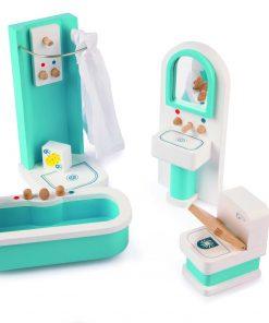 Mobilier baie pentru casuta papusi