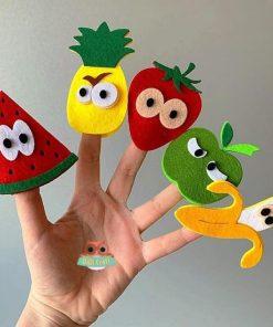 Marionete degete - fructe