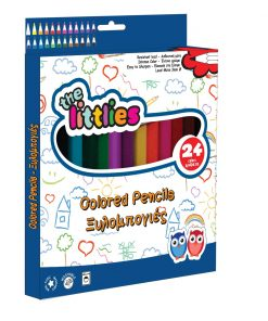 Set de 24 de creioane colorate, The Littlies