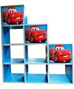 Etajera copii Cars