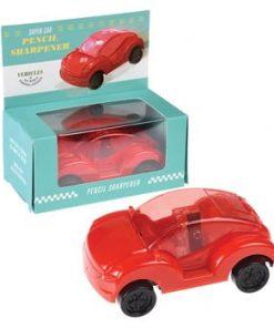 Ascuțitoare în formă de mașinuță Rex London Supercar, roșu