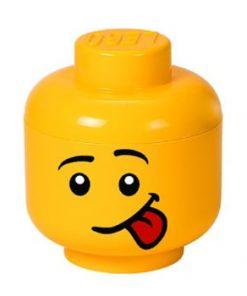 Cutie depozitare LEGO® Silly S, galben, ⌀ 16,3 cm