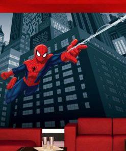 Fototapet Disney Spiderman in actiune - 360 x 270 cm