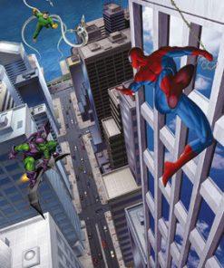 Poze Fototapet 'spiderman Si Villains'