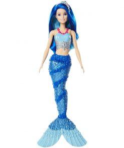 Papusa Barbie Dreamtopia Sirena, Albastru (FJC92)