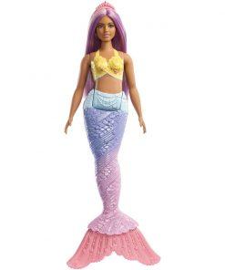 Papusa Barbie Dreamtopia Sirena, Mov (FXT09)