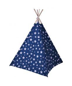 Cort cu stele Noriel Impulse, 103 x 103 x 160 cm, Albastru