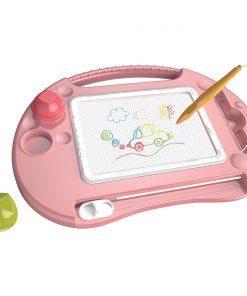 Tabla magnetica pentru desen Micul Artist, Roz