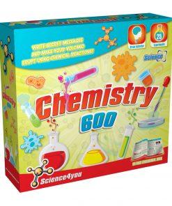 Joc educativ Science4you, set laboratorul de chimie
