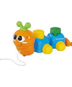Jucarie bebelusi Simba - Omiduta, portocaliu / bleu