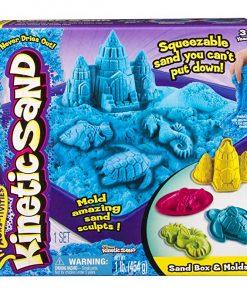 Set nisip Kinetic Sand Blue 454g