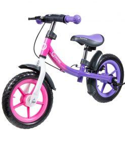 Lionelo - Bicicleta fara pedale Dan Plus Pink Chameleon