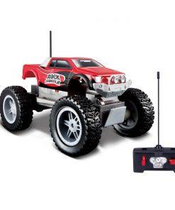 Masina cu telecomanda Maisto Rock Crawler Junior, Portocaliu
