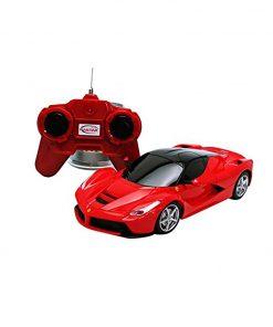 Masina cu telecomanda Rastar Ferrari LaFerrari, 1:24, Rosu