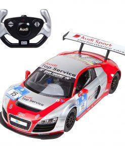 Masina cu telecomanda Rastar Audi R8, 1:14, Gri