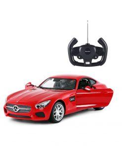Masina cu telecomanda Rastar Mercedes - Benz AMG GT 1:14, Rosu