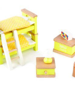 Mobilier pentru casuta papusii - Dormitor