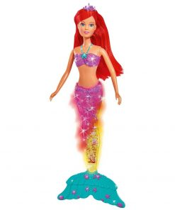 Papusa Simba Steffi Love Light & Glitter Mermaid 34 cm