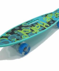58cm Penny Board portabil, ABEC-7 si roti cu LED - Graffiti.