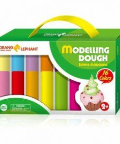 Plastilina modelaj, 16 culori