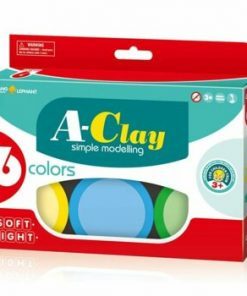 Plastilina modelaj, 6 culori