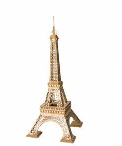 Puzzle 3D Turnul Eiffel, Lemn, 122 piese