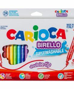 Carioci cu varf dublu, Carioca Birello 24 buc set.