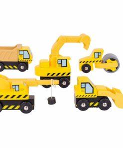 Set masini de constructie.