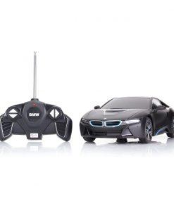 Masina cu telecomanda Rastar BMW i8, 1:18, Negru