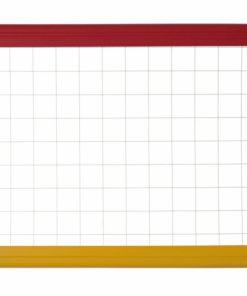 Tabla magnetica cu 2 fete, rama color A3 Bi-Silque.