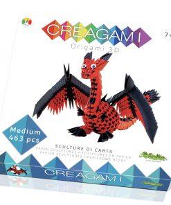 Creagami dragon origami 3d creativamente