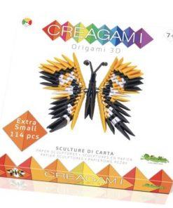 Creagami fluture origami 3d creativamente