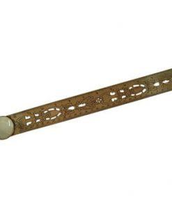 Riglă cu lupă Antic Line Ruler