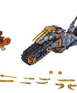 LEGO Motocicleta de teren a lui Cole