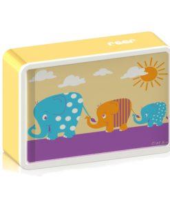 Lampa de Veghe cu Led si Senzor de Lumina BabyLight Basic Elefant
