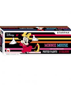 Set 12 acuarele Tempera - Minnie Mouse