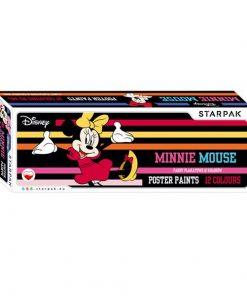 Set 12 acuarele Tempera - Minnie Mouse
