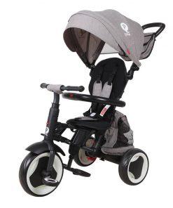 Tricicleta pliabila Qplay Rito+ Gri