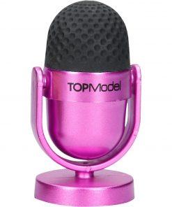 Top Model Radiera si Ascutitoare microfon Depesche PT8095 B370459 culoare Roz