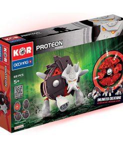 Set Constructie Magnetic Kor Proteon Taurex, 68 piese